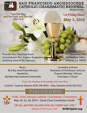 First Friday Mass May, 2019