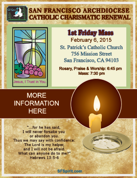 First Friday Mass February 2015